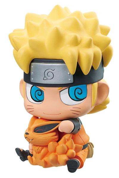 Naruto Shippuden: Naruto and Kurama Chimi Mega Coin Bank Figure