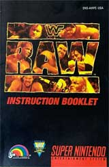 WWF Raw (Instruction Manual)