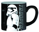 Star Wars E7 Trooper Profile Text 14oz Laser Ceramic Mug