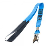 Star Trek Blue Member Lanyard with Charm