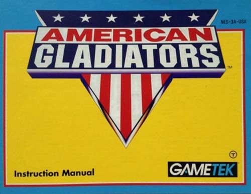 American Gladiators (Instruction Manual)