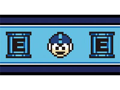 Mega Man X: Supplement Bath Towel