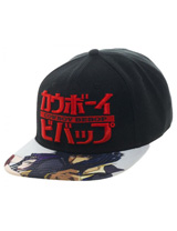 Cowboy Bebop Sublimated Bill Snapback