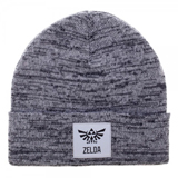 Legend of Zelda Grey Marled Cuff Beanie