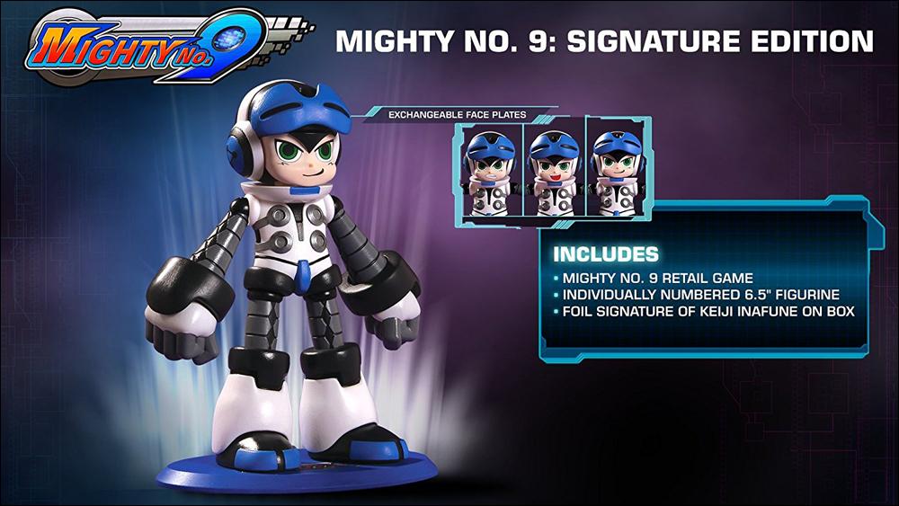 Mighty No. 9 Signature Ed
