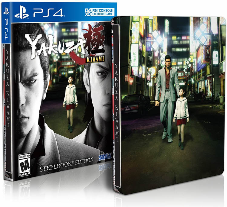 Yakuza Kiwami Steelbook Launch Edition