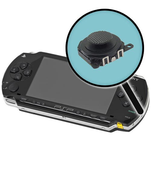 Sony PSP Model 1000 Repairs: Analog Joystick Replacement Service