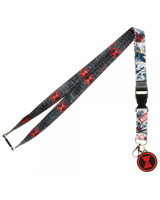 Marvel Black Widow Lanyard With Charm