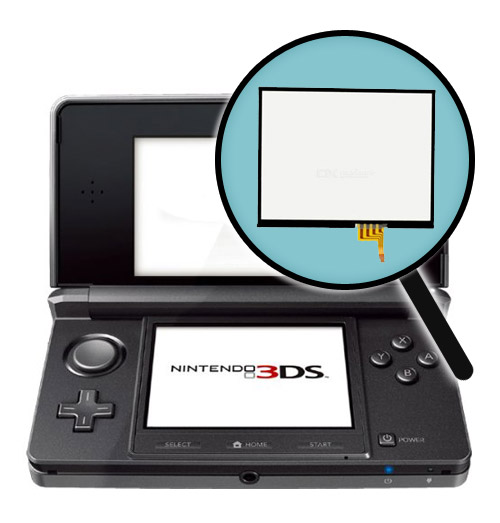 3DS Repairs: Touch Screen Replacement Service