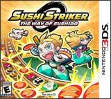 3DS Sushi Striker: The Way of The Sushido Boxart
