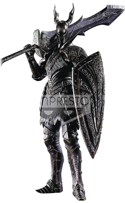 Dark Souls: Sculpture Collection V3: Black Knight Figure