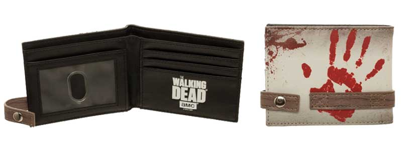 Walking Dead Dont Open Bi-Fold Wallet additional angles