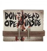 Walking Dead Don't Open Bi-Fold Wallet