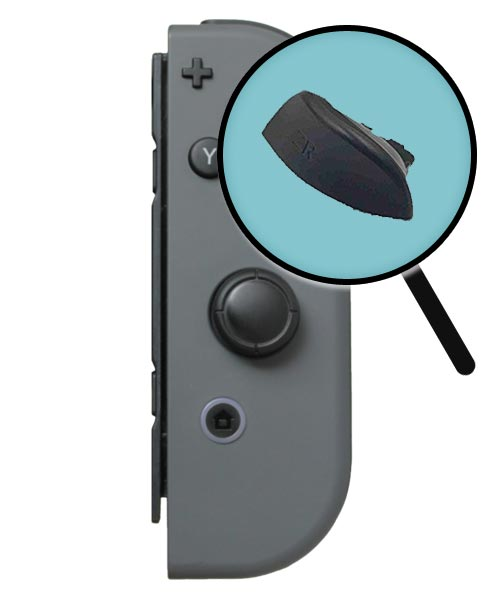 Nintendo Switch Repairs: Joy-Con ZR Button Replacement Service