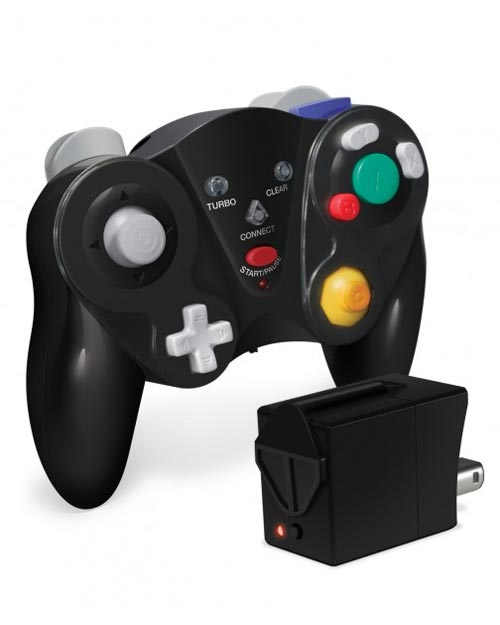 GameCube Cirka FreePad Wireless Controller Black