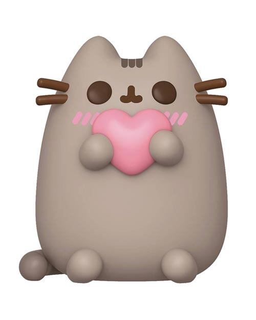 Pop! Pusheen with Heart Vinyl Figure