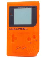 Game Boy Housing Shell Replacement Service Clear Orange