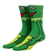 Muppet Show Kermit the Frog 360 Crew Socks