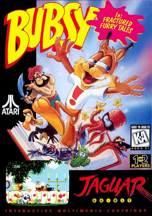 Bubsy: Fractured Furry Tails