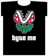Nintendo: Byte Me T-Shirt LG