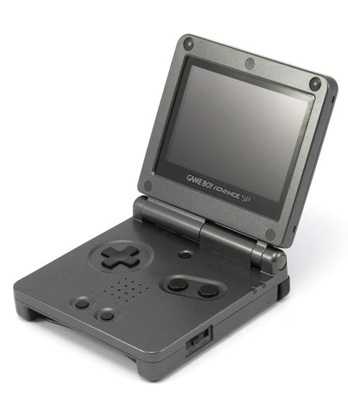 Nintendo Game Boy Advance SP Graphite System Trade-In