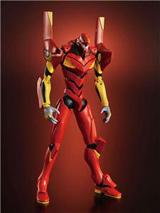 SOC Tamashii SE XS-08 Neon Genesis Evangelion Unit-02 Action Figure