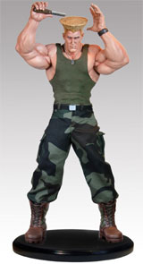 Street Fighter 1/4 Scale Guile Statue