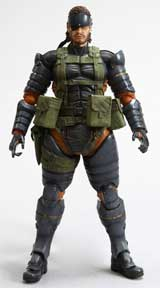 Metal Gear Solid: Peace Walker Play Arts Kai Snake Battle Dress Figure