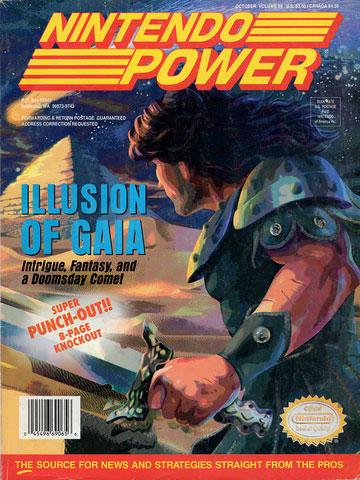 Nintendo Power Magazine Volume 65 Illusion of Gaia