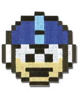 Mega Man 10 1-Up Head Patch