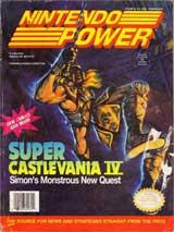 Nintendo Power Volume 32: Super Castlevania IV