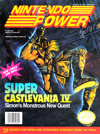 Nintendo Power Volume 32: Super Castlevania IV