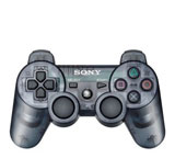 PS3 DualShock 3 Slate Gray Wireless Controller by Sony