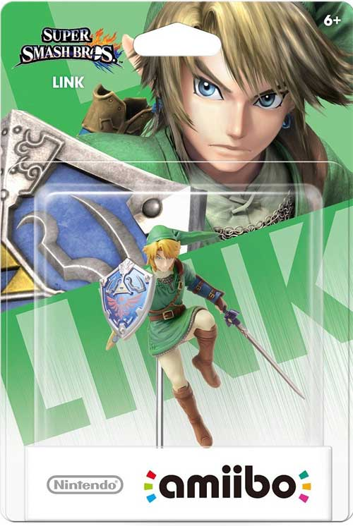 amiibo Link Super Smash Bros Series