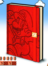 Super Mario Bros Mario Premium Notebook