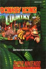 Donkey Kong Country (Instruction Manual)