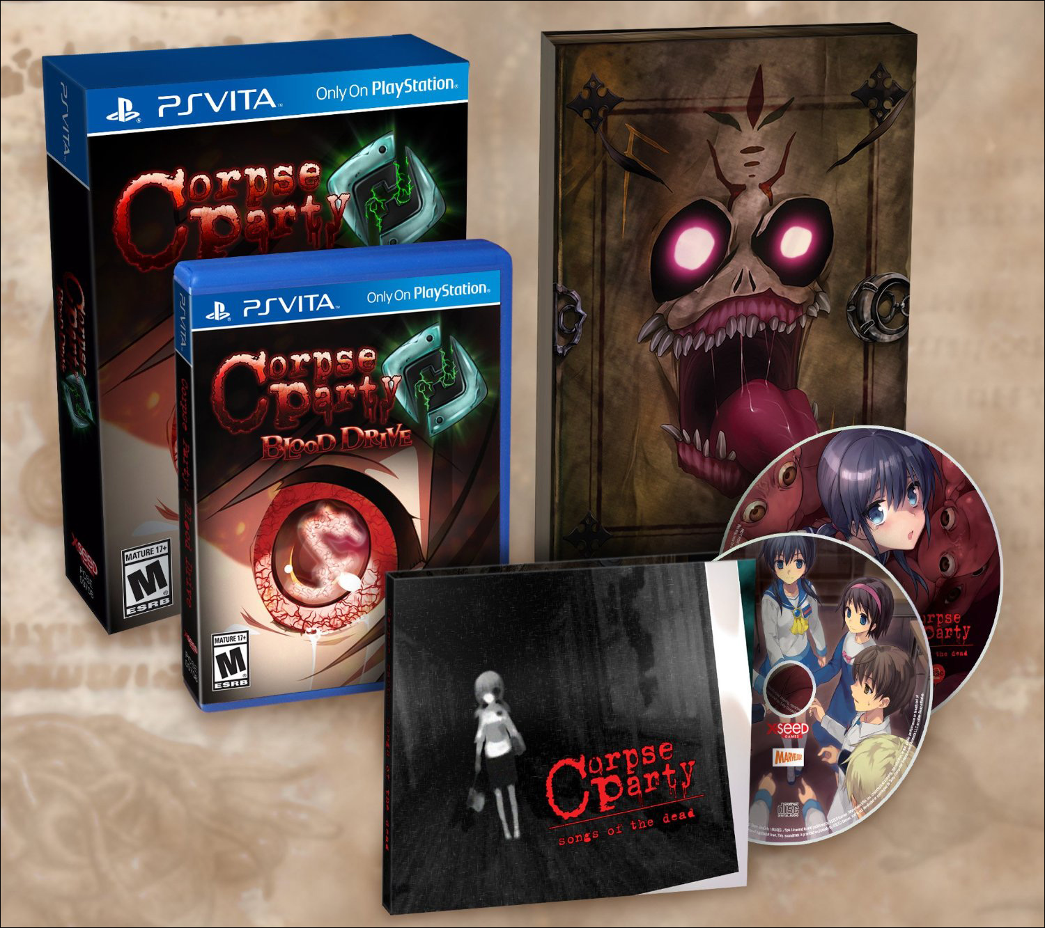 Corpse Party: Blood Drive Everafter Edition