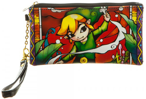 Zelda Clear Envelope with Wallet