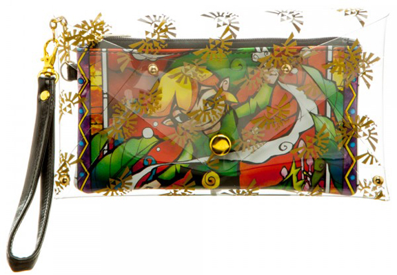Zelda Clear Envelope with Wallet