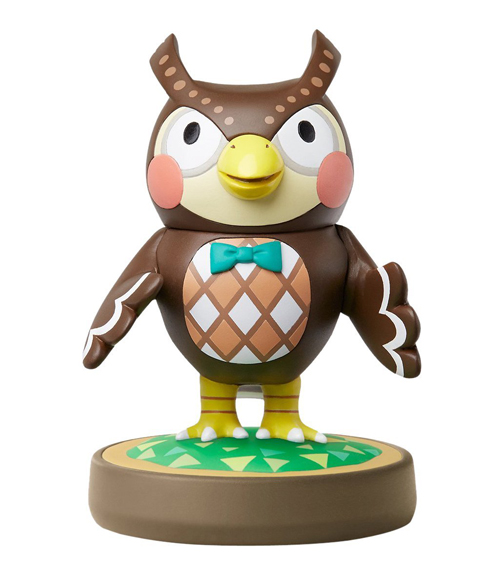 amiibo Blathers Animal Crossing