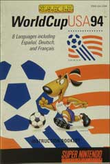 World Cup USA '94 (Instruction Manual)