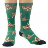 Legend of Zelda Crest Sublimated Crew Socks