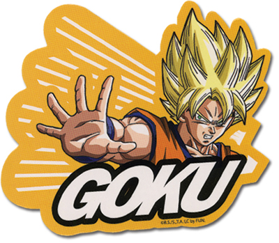 Dragon Ball Z Super Saiyan Goku Sticker