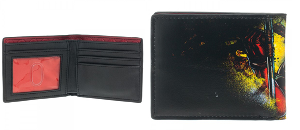 Marvel Deadpool Bi-Fold Wallet with Metal Badge