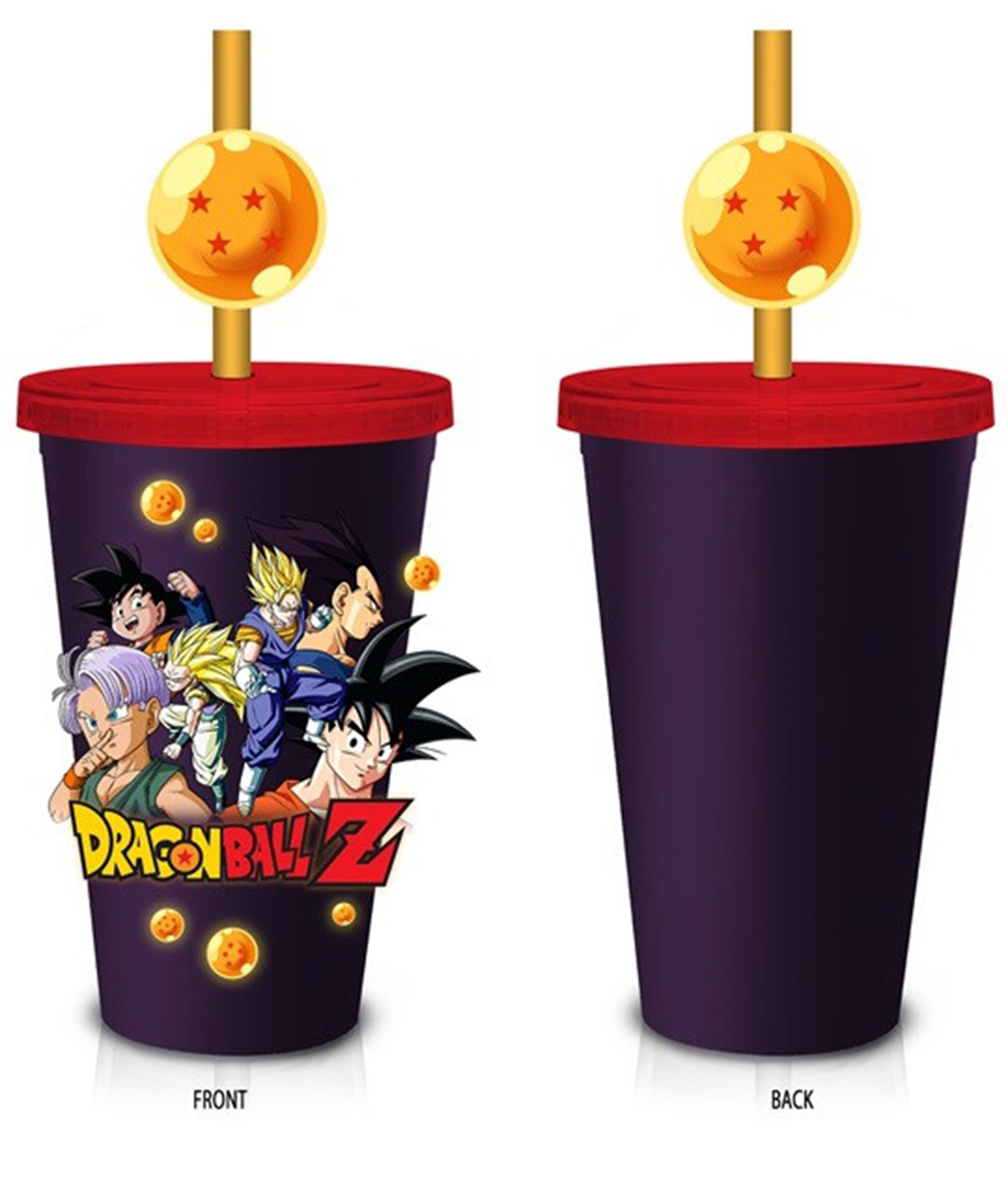 Dragon Ball Z Molded Straw 18oz Carnival Cup