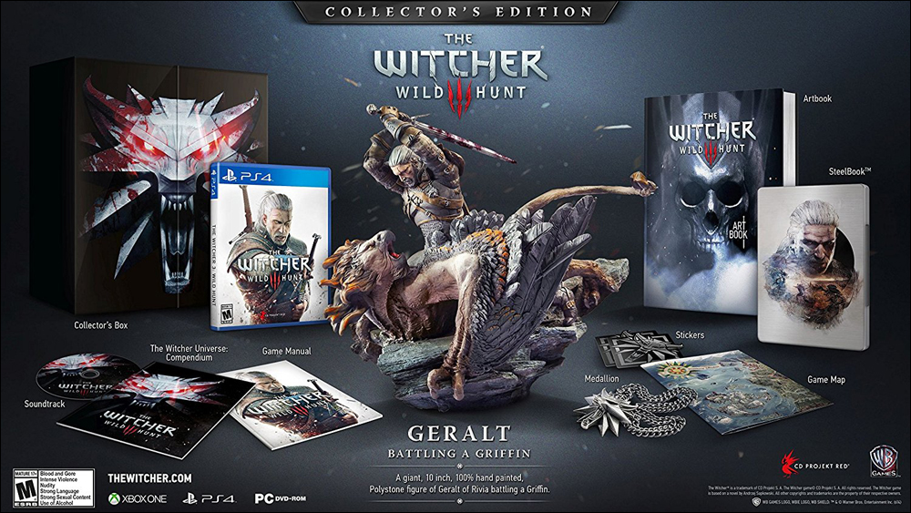 Witcher 3 Collectors Ed