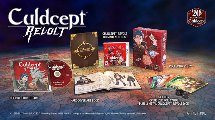 Culdcept Revolt Limited Edition