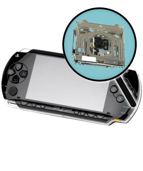 Sony PSP Model 1000 Repairs: UMD Drive Assembly Replacement Service