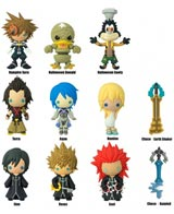 Kingdom Hearts Series 3 Laser Cut Figural Keyrings