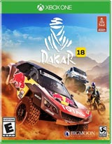 Dakar 18 (Xbox One) boxart